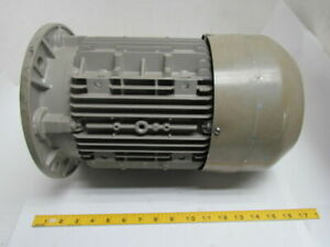 Siemens 1la91132ka11 5 Hp 3525 Rpm 3 Ph 230 400 V Tefc Electric Motor