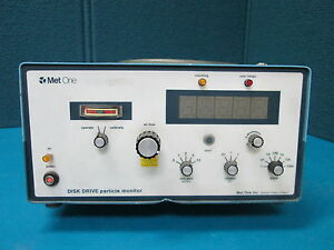 Met One Disk Drive Particle Monitor 5s 1 1