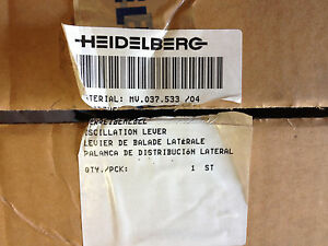 Heidelberg Sm 102 Cd 102 Part Mv 037 533 4 Complete Oscillation Lever