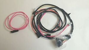 1965 1966 65 66 Impala Belair Engine Wiring Harness 283 327 Hei Warning Lights