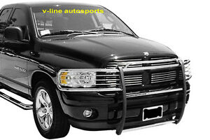 Fits 2003 2005 Dodge Ram 2500 3500 Hpt Grill Brush Guard Stainless Steel