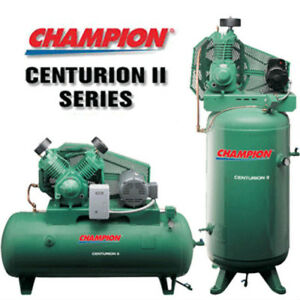 Champion Vrv7 12 Air Compressor 7 5 Hp Single Phase 120 Gal 230 Volt Vertical