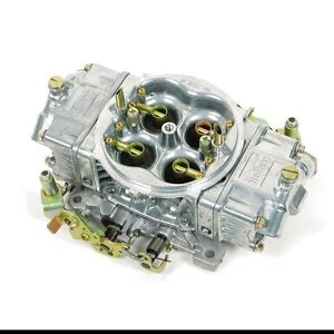 600 Cfm Four Barrel Carburetor Holley Part 0 80575s