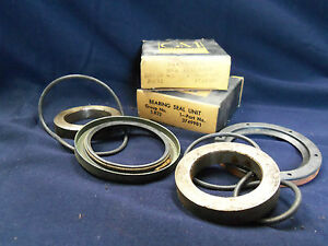 Nos 58 59 Corvette Rear Wheel Bearing Unit Pair Set Chevy Impala Belair Biscayne