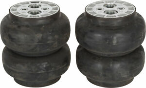 2ct Slam Specialties Air Suspension Bags He 6 Dual 1 2 Npt Ports Rated 400 Psi