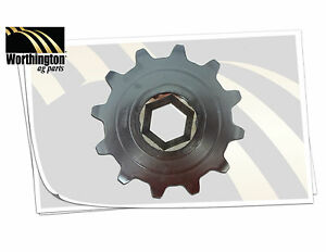 766379 Combine Feeder Chain Sprocket Ford New Holland Cr9040 Cr9060 Cr9070