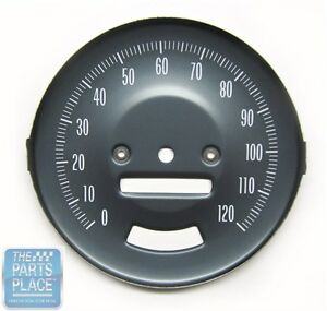 1966 67 Pontiac Gto Oe Factory Steel Speedometer Face With Rally Gauges