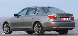 Bmw 5 Series Seat Covers e60 Front Charcoal Fabric Is Durable And Washable