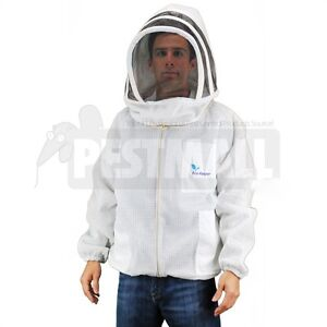Vented Bee Jacket eco keeper Premium Professional Beekeeping Suit large Size
