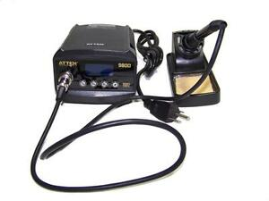Atten 980d Soldering Iron Rework Station Thermo Control Ant static Lcd Display