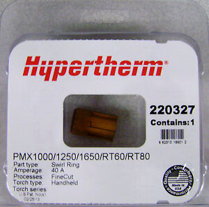 Hypertherm Genuine Powermax 1000 1250 1650 Swirl Ring 220327