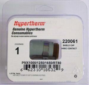 Hypertherm Genuine Powermax 1000 1250 1650 Ohmic Shield Cap 220061