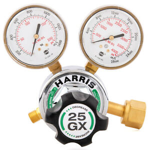 Harris Model 25gx Single Stage Oxygen Regulator 25gx 145 540 3000510