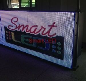 Outdoor Full Color P16 80 l X 40 h Programmable Led Sign Display