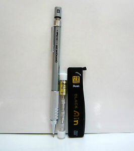 Pentel Graphgear 500 0 5mm With Refill Lead And Eraser Mechanical Pencil