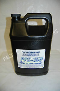 6 Pack Of One Gallon 3fmx8 Partial Synthetic Reciprocating Compressor Oil