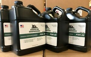 4 Pack 1 Gallon Psh 46 Synthetic Lubricant Compressor Oil Air Compressor Parts