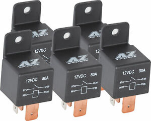 5ct Air Zenith Air Compressor Overload Relays For Train Horns 12 Volt 80 Amp