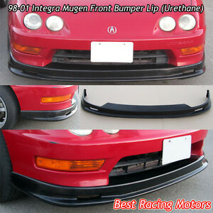 Mu gen Style Front Bumper Lip urethane Fits 98 01 Acura Integra 2 4dr