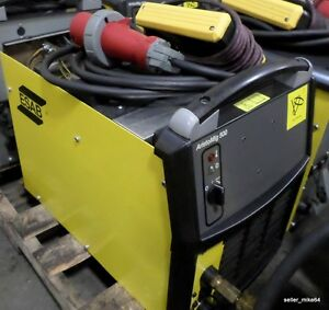 Esab Aristomig 500 Mig Welder W Pendant And Power Cable missing Top pzb