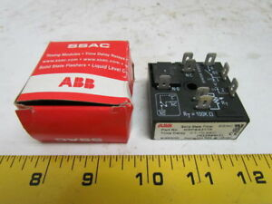 Abb Solid State Programmable Timer 24 240vac dc Time Delay 0 1 10 Sec Nib