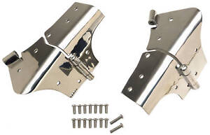 1997 2006 Jeep Wrangler Unlimited Windshield Hinges Stainless Steel
