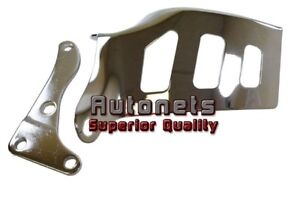 Chrome Steel Small Block Chevy Alternator Bracket High Tech Long Water Pump Lwp