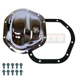 Dana 44 Chrome Plated Steel Differential Cover Ford Chevy Dodge Jeep Front Rear