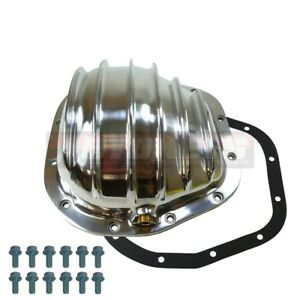 Polished Aluminum Differential Cover Ford F150 F250 F350 2wd 4wd 12 Bolt 10 5 Rg
