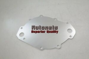 Billet Aluminum Big Block Ford 429 460 Electric Water Pump Backing Plate Bbf