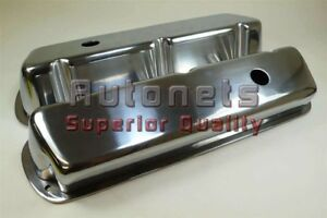 Sbf Small Block Ford Polish Smooth Aluminum Valve Cover 289 302 351w 5 0 Mustang