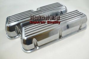 Ford Small Block Sbf Finned Aluminum Valve Cover289 302 351w5 0l Mustang No hole