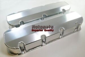 Anodized Fabricated Aluminum Big Block Chevy 396 427 502 Valve Covers Bbc Tall