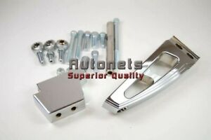 Chromed Aluminum Big Block Chevy Air Condition Ac Bracket Swp Street Hot Rod