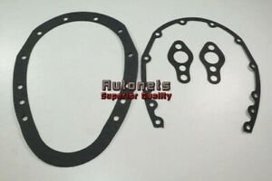Small Block Chevy Sb Sbc Timing Cover Gasket 2 Piece Cover 283 305 325 350 400