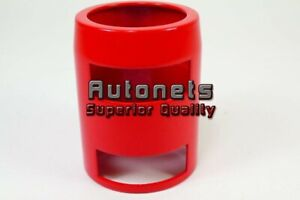 Red Aluminum Radiator Hose End Caps 1 3 4 Chevy Ford Gm Hot Rat Street Rod Sbc