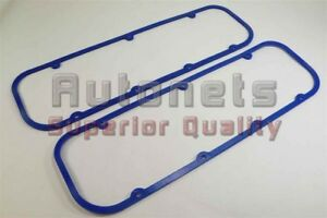 Blue Bbc Big Block Chevy Steel Rubber Valve Cover Gasket Reusable 396 427 454502