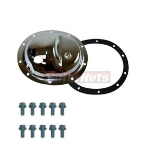 Chrome Steel Differential Cover Jeep Yj Wrangler Dana 35 Rear 10 Bolts Gasket