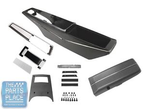 1971 72 Chevrolet Chevelle Console Kit With Shifter Cable Th