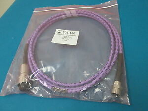 Anritsu 806 138 Megaphase 7ghz 10 Ft 3m Gore Nm 7 16m Test Cable Brand New