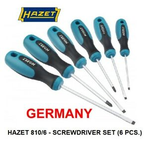 Hazet Germany Screw Driver Set With 6 Pieces