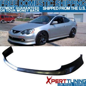 Fit 02 04 Acura Rsx Dc5 T R Style Front Bumper Lip Spoiler Pu