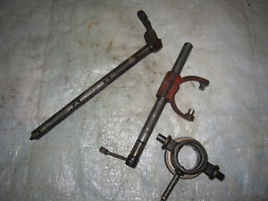Farmall Ih 340 Tractor Throwout Bearing Shaft Carriers