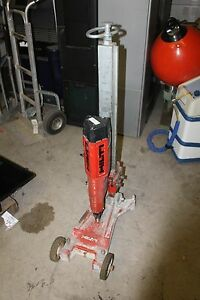 Hilti 115v Core Drill With The Dcm Ii Stand