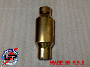 59956 2 5 Inlet outlet Universal Catalytic Converter High Flow Free Shipping