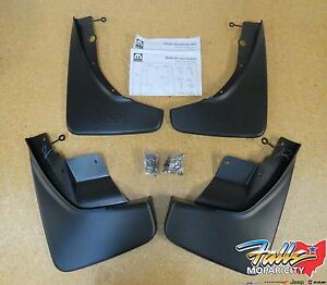 2011 2020 Jeep Grand Cherokee Deluxe Front Rear Molded Splash Guards Mud Flaps