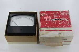 Vintage Triplett Model 450 Meter Fs 5 Volts Nos New