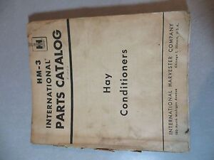 Farmall Ih Hay Conditioner Hm 3 Parts Catalog