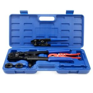 Iwiss F1807 Pex Pipe Crimping Tool With 3 8 1 2 3 4 1 For Free Cutter