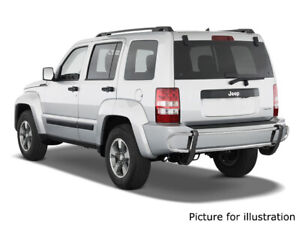 Fits 2008 2013 Jeep Liberty Dodge Nitro Rear Bumper Guard Protector Stainless